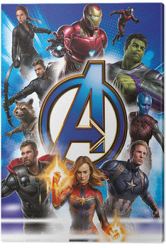 Canvas-taulu Avengers: Endgame - Avengers Unite