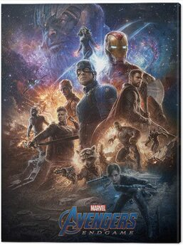 Canvas-taulu Avengers: Endgame - From The Ashes