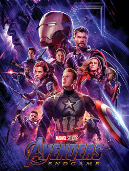 Canvas-taulu Avengers: Endgame - Journey's End