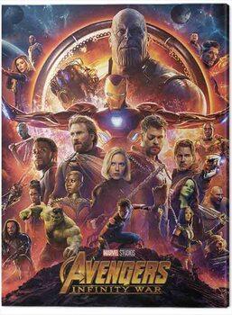 Canvas-taulu Avengers: Infinity War - One Sheet