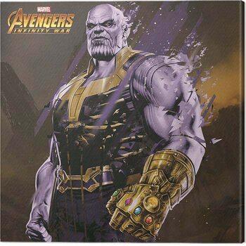 Canvas-taulu Avengers: Infinity War - Thanos Fragmented