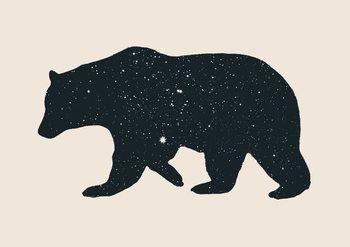 Canvas-taulu Bear