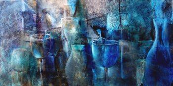 Canvas-taulu Blue curacao