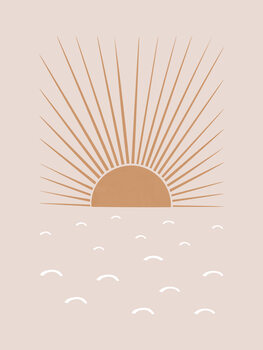 Canvas-taulu Blush Sun