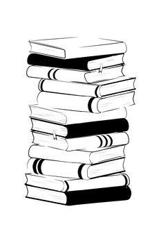 Canvas-taulu Books