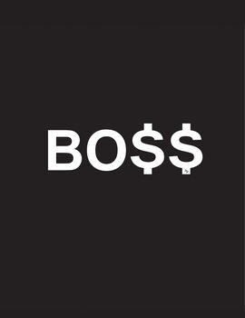 Canvas-taulu Boss