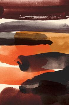 Canvas-taulu Burnt sienna