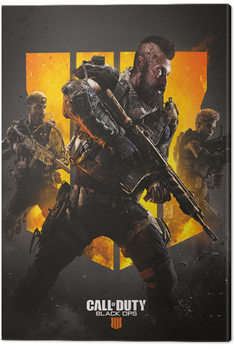 Canvas-taulu Call of Duty: Black Ops 4 - Trio