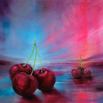 Canvas-taulu Cherries