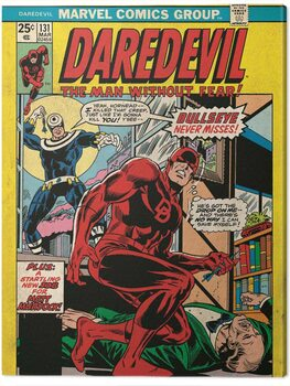 Canvas-taulu Daredevil - Bullsyey Misse