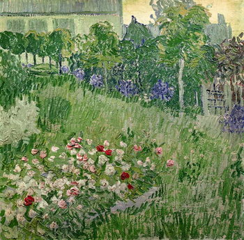 Canvas-taulu Daubigny's garden, 1890