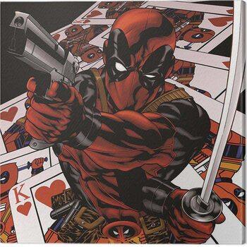 Canvas-taulu Deadpool - Cards