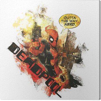 Canvas-taulu Deadpool - Nerd