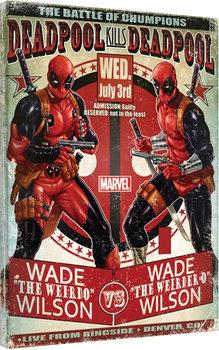 Deadpool - Wade vs Wade Canvas-taulu