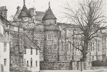 Canvas-taulu Falkland Palace, Scotland, 200,7
