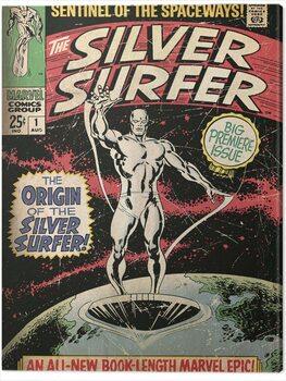 Canvas-taulu Fantastic Four 2: Silver Surfer - The Origin