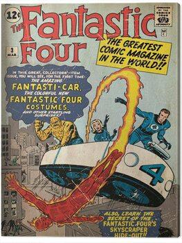 Canvas-taulu Fantastic Four - Marvel Comics