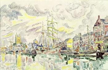 Canvas-taulu Fecamp, 1934