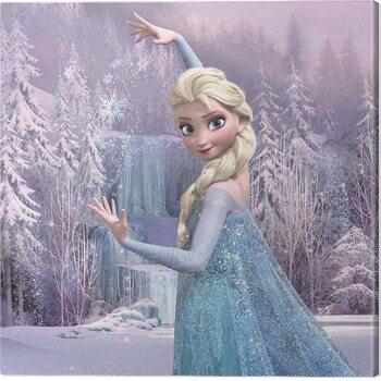 Canvas-taulu Frozen - Elsa Frozen Forest