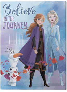 Frozen: huurteinen seikkailu 2 - Believe in the Journey Canvas-taulu
