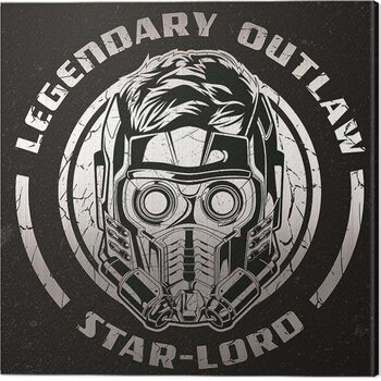 Canvas-taulu Guardians of The Galaxy Vol 2 - Legendary Outlaw