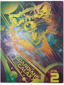 Canvas-taulu Guardians of The Galaxy Vol. 2 - Rocket