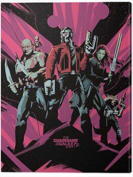 Canvas-taulu Guardians of The Galaxy Vol. 2 - Unite
