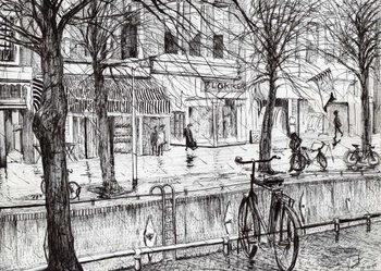 Canvas-taulu Harlingen Holland, 2005,