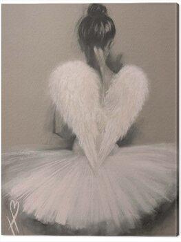 Canvas-taulu Hazel Bowman - Angel Wings