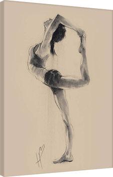 Canvas-taulu Hazel Bowman - Lord of the Dance Pose