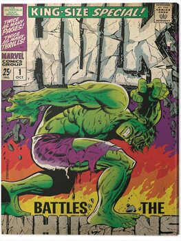 Canvas-taulu Hulk - Inhumans