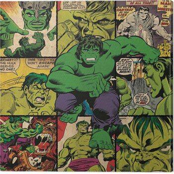 Canvas-taulu Hulk - Squares