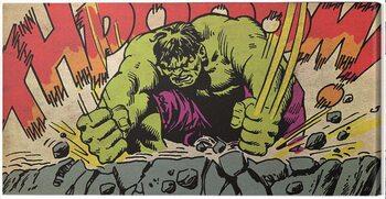 Canvas-taulu Hulk - Thpooom
