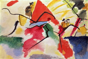 Improvisation No. 5, 1911 Canvas-taulu