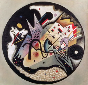 Canvas-taulu In the Black Circle, 1923