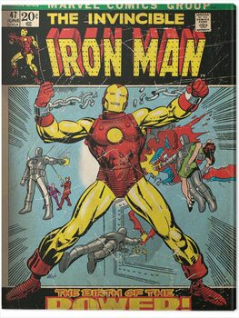Canvas-taulu Iron Man - Birth of Power