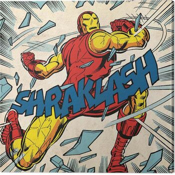 Canvas-taulu Iron Man - Shraklash!