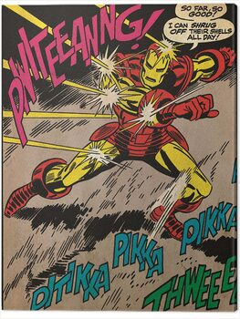 Canvas-taulu Iron Man - So Far So Good