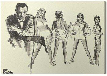 Canvas-taulu James Bond - Dr. No