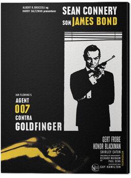 Canvas-taulu James Bond - Goldfinger - Window