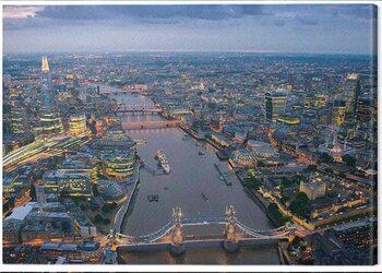 Canvas-taulu Jason Hawkes - London