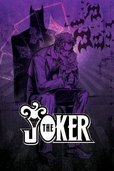 Canvas-taulu Joker - In the shadow