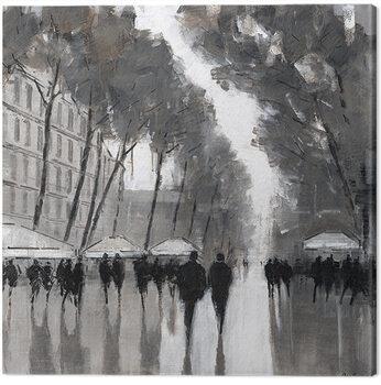 Jon Barker - Las Ramblas, Barcelona Canvas-taulu