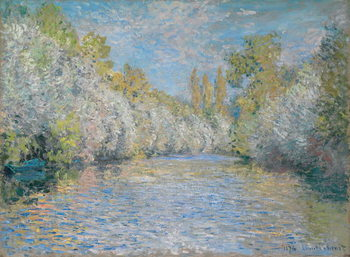 Canvas-taulu L'Yerres Near Montgeron; L'Yerres pres de Montgeron