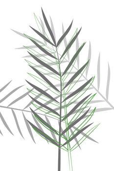 Canvas-taulu Leaf game