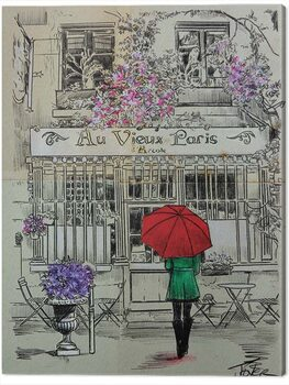 Canvas-taulu Loui Jover - Au Vieux Paris