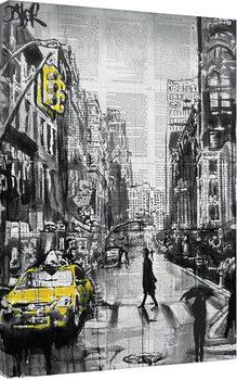 Canvas-taulu Loui Jover - Brooklyn Cab