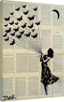 Canvas-taulu Loui Jover - Butterflying
