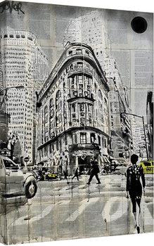 Loui Jover - Midtown Walk Canvas-taulu