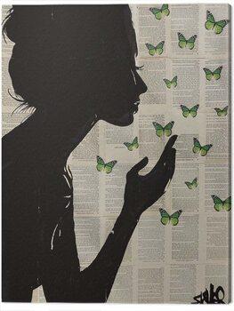 Canvas-taulu Loui Jover - Simplicity - Green